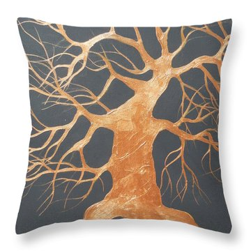 The Dance Throw Pillow by Dan Whittemore