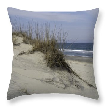 The Dunes Throw Pillow by Kelvin Booker