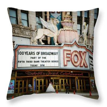 The Fox Theatre Throw Pillow