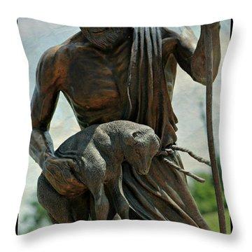 The Good Shepherd Throw Pillow