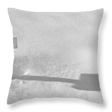Throw Pillow featuring the photograph The Grave Of Bobby Kennedy by Cora Wandel