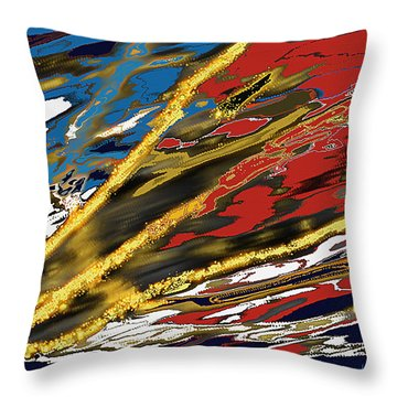 The Guardian Throw Pillow by Thomas Bryant