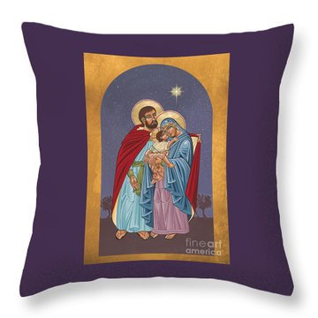 The Holy Family For The Holy Family Hospital Of Bethlehem 272 Throw Pillow