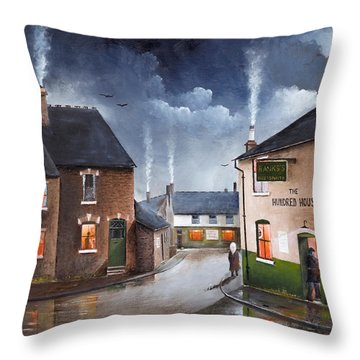 The Hundred House - Lye Throw Pillow