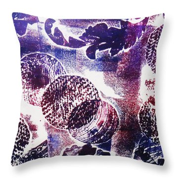 The Journey Throw Pillow by Yael VanGruber