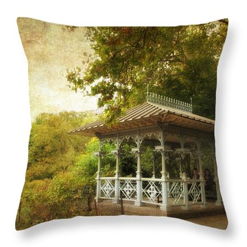 The Ladies Pavilion Throw Pillow