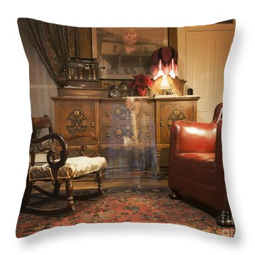 The Lobby Throw Pillow by Juli Scalzi