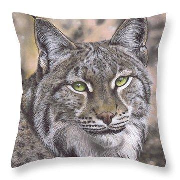 The Lynx Effect Throw Pillow