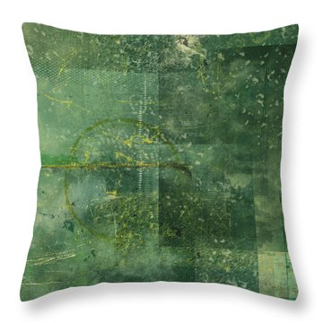 The Mystic Throw Pillow by Christopher Gaston