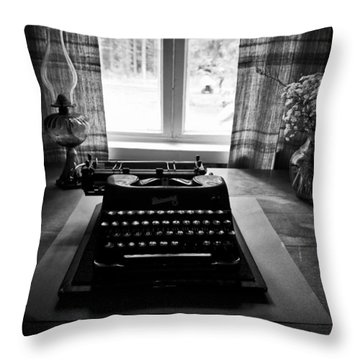 The Office Throw Pillow by Jouko Lehto