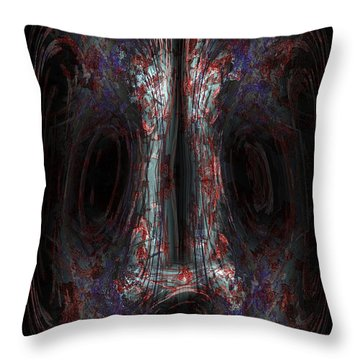 The Painter Throw Pillow by Christopher Gaston