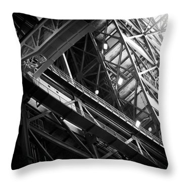 the persistent dream of Pythagoras Throw Pillow