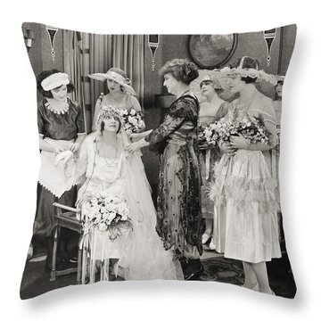 The Power Within, 1921 Throw Pillow by Granger