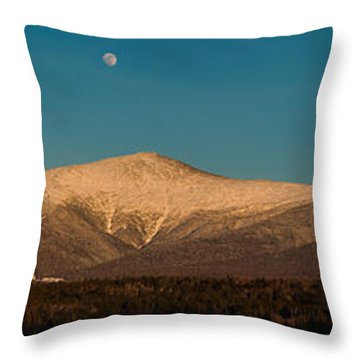 The Presidential Range White Mountains New Hampshire Throw Pillow