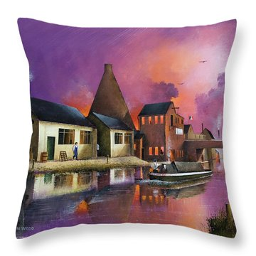 The Red House Cone - Wordsley Throw Pillow