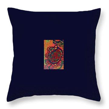 Throw Pillow featuring the painting Polar Shift. by Jonathon Hansen