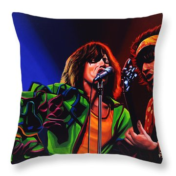 The Rolling Stones 2 Throw Pillow