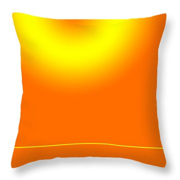 The Secret Island Throw Pillow