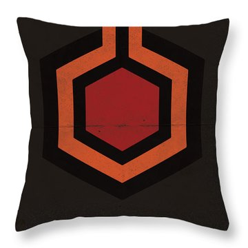 Throw Pillow featuring the digital art The Shining by Mike Taylor