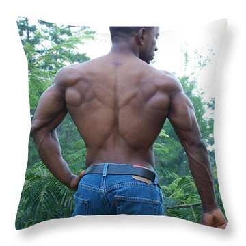 The Spread Throw Pillow by Jake Hartz