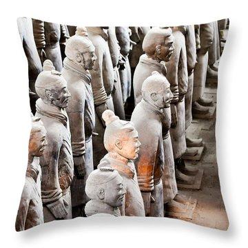 Terracotta Warriors Throw Pillows Fine Art America Fascinating Terracotta Decorative Pillows