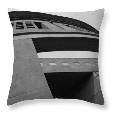 Throw Pillow featuring the photograph The United States Holocaust Memorial Museum by Cora Wandel