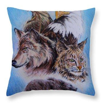 The Wildlife Collection 1  Throw Pillow