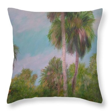 This Is Florida Throw Pillow