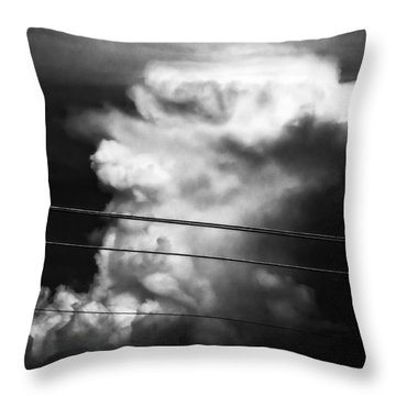 Thunderhead Throw Pillow
