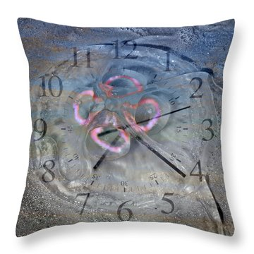 Timing Throw Pillow by Betsy Knapp