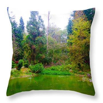 To Protect Trees Throw Pillow