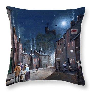 Tower Street Dudley C1930s Throw Pillow