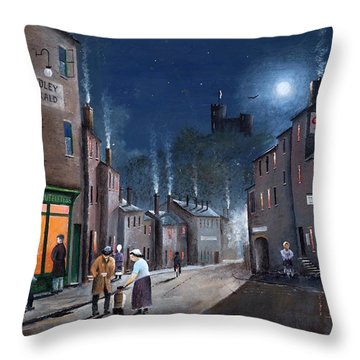 Tower Street Dudley C1930s Throw Pillow