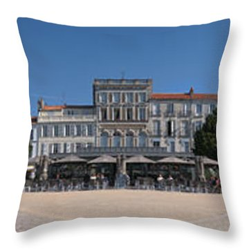 Town Hall, Colbert Square, Rochefort Throw Pillow