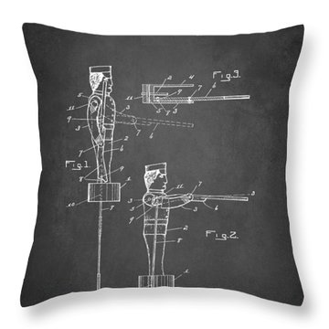 Toy Soldier Patent 1921 Throw Pillow