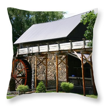Trade Mill Throw Pillow