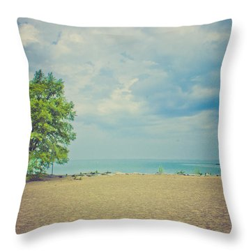 Tranquility Throw Pillow by Sara Frank