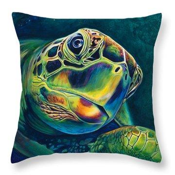 Tranquility Throw Pillow by Scott Spillman