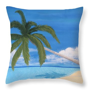 Tranquility Throw Pillow by Tim Townsend
