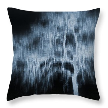 Throw Pillow featuring the photograph Tree by Irina Hays