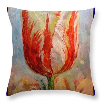 Tulip Throw Pillow by Hans Droog