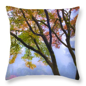 Two Heron  Throw Pillow