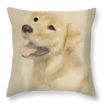 Throw Pillow featuring the photograph Unconditional Love by Linda Blair
