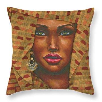 Headwrap Throw Pillow
