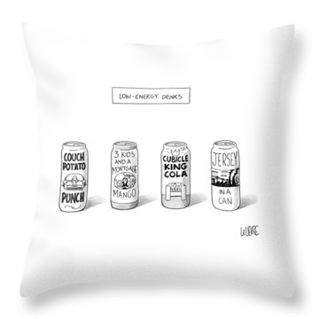 New Yorker March 5th, 2007 Throw Pillow