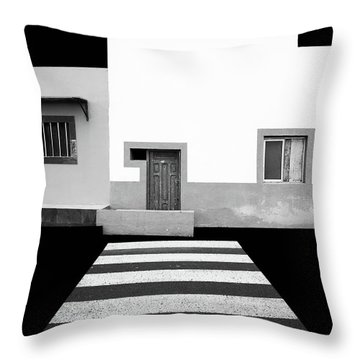 Barcode Throw Pillows