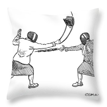 New Yorker June 19th, 2006 Throw Pillow