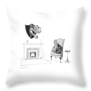 New Yorker February 13th, 2017 Throw Pillow