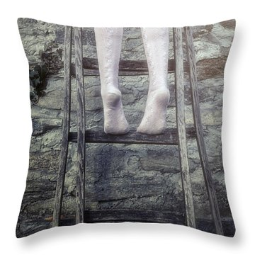 Upwards Throw Pillow by Joana Kruse