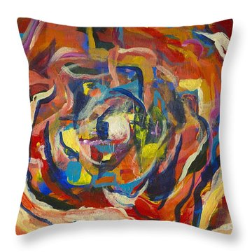 Urban Meets Rural Throw Pillow by Cathy Long